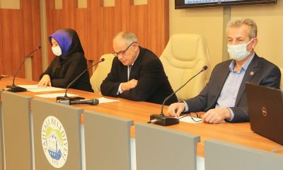 Yahyalı Belediyesi 2021 yılının ilk meclisini yaptı