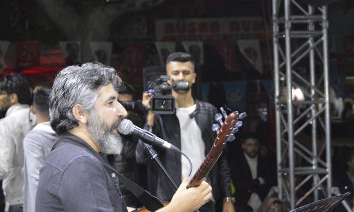 Ali Kınık Yahyalı'da Konser Verdi