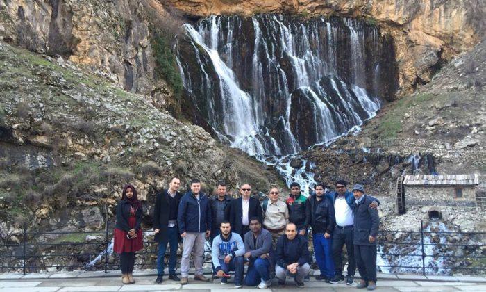 Arap Turizmciler, Yahyalı'yı Gezdi