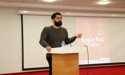"""""""Asım'ın Nesli Ve Ustaları"""" Konulu Konferans Düzenlendi"""
