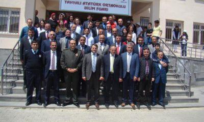 Atatürk Ortaokulu Bilim Fuarı Açtı