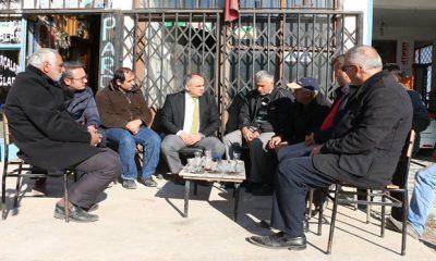 Başkan Öztürk, Yeni Sanayi Esnafını Ziyaret Etti