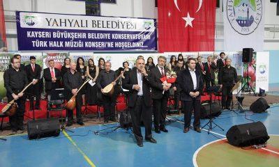 Büyükşehir Konservatuarı Yahyalı'da Konser Verdi
