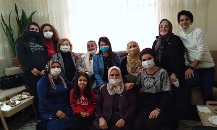 CHP Yahyalı ilçe kadın kolları kuruldu