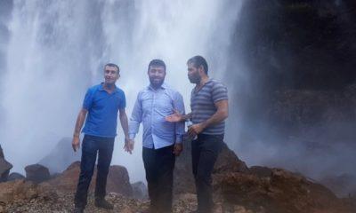 'Türkiye'nin Niagara'sı Ziyaretçilerini Büyülüyor