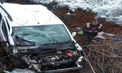 Otomobil dereye uçtu: 1 kişi öldü
