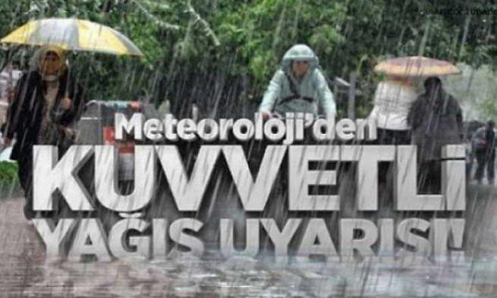 Meteoroloji'den Yahyalı'da kuvvetli yağış uyarısı