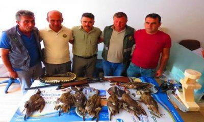 Sultan Sazlığı'nda Kaçak Avcıya Ceza