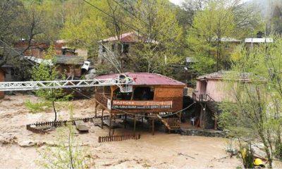 Yahyalı'yı Sel Felaketi Vurdu