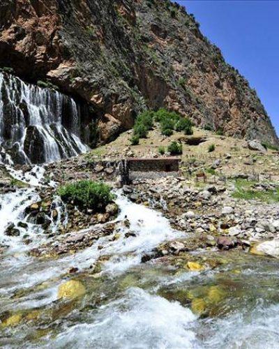 Yahyalı'nın gizli cenneti: Kapuzbaşı Şelaleleri