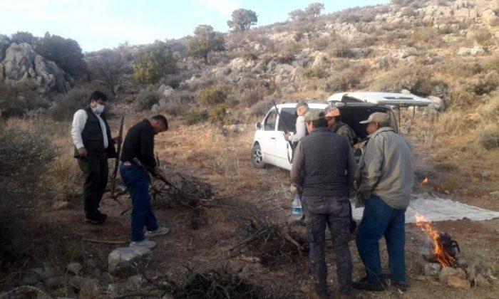 Yasak avlanan 8 kişiye 5 bin TL ceza yazıldı